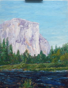 El Capitan from the West