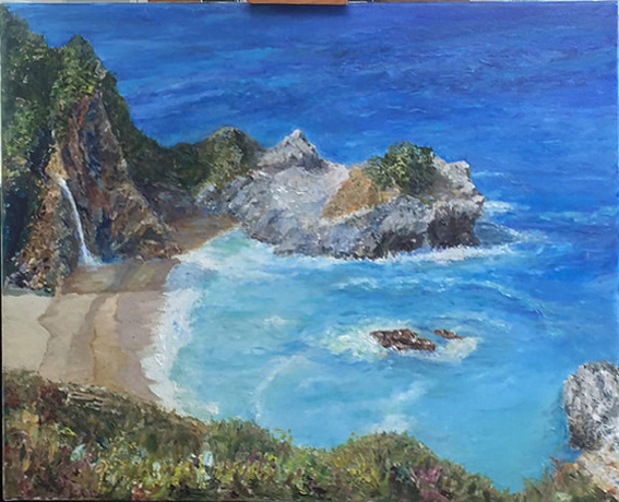 Big Sur - a Commission
