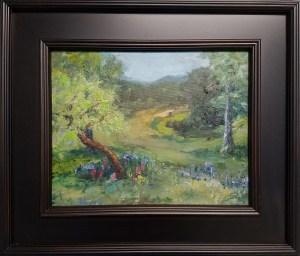 Texas Highway, Sold, Oil,11x14