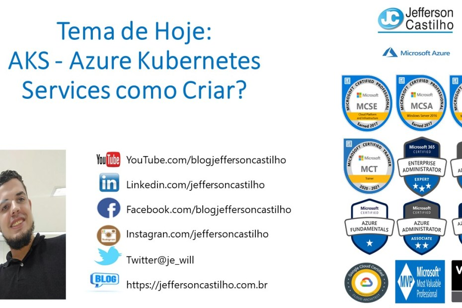 AKS - Azure Kubernetes Services como Criar?