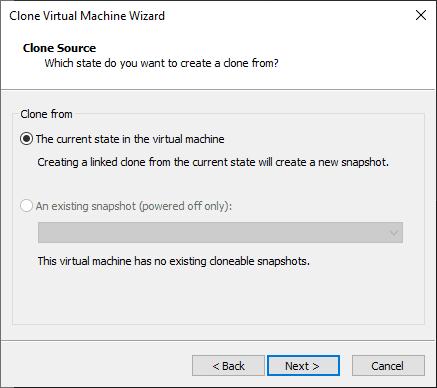 Clonando uma máquina Virtual no VMware Workstation – Full Clone