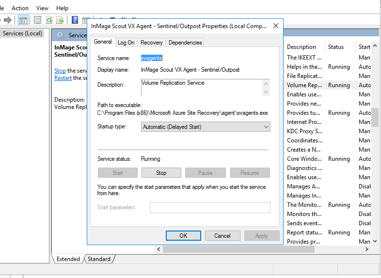 Error ID 78172 DR Azure Vmware no Site Recovery