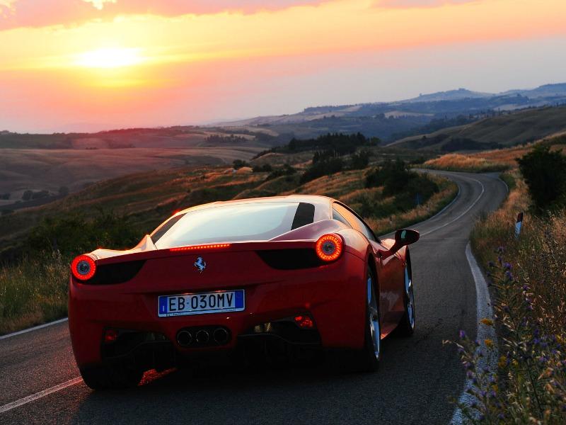 77009aac9fe Descobrindo a Toscana com os poderosos motores da Ferrari por Itália ...