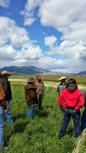 Modoc County one-day holistic management workshop by the Jefferson Center