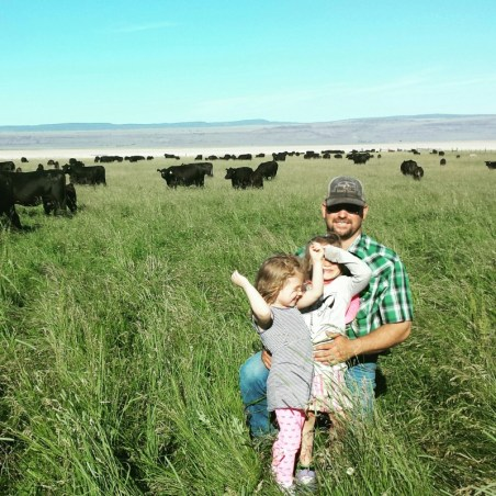 checking cattle, Surprise Valley, Jefferson Center for Holistic Management