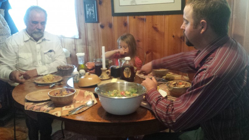 family meals, holistic management, Springs Ranch
