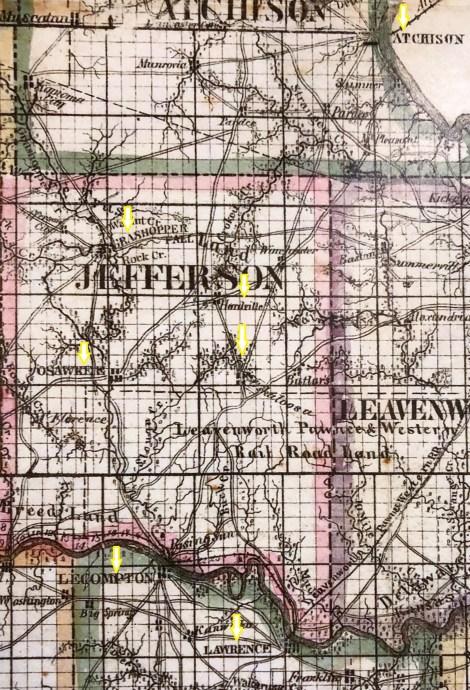 gunn map 1862