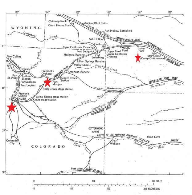 Hazen points part II map colo usgs