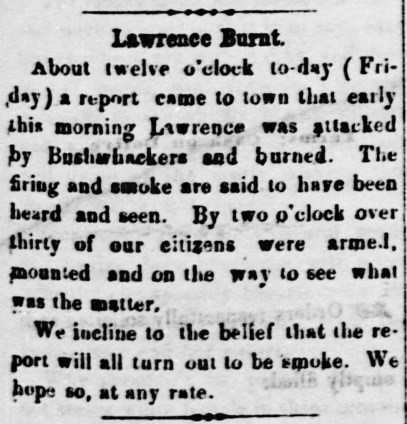 early oskaloosa report quantrill p3 The_Oskaloosa_Independent_Sat__Aug_22__1863_