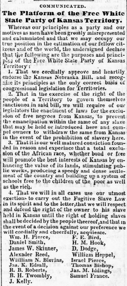 Free white state Weekly_Leavenworth_Herald_Fri__Mar_9__1855_