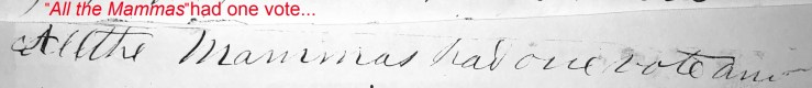 March 22 1858 Mammas