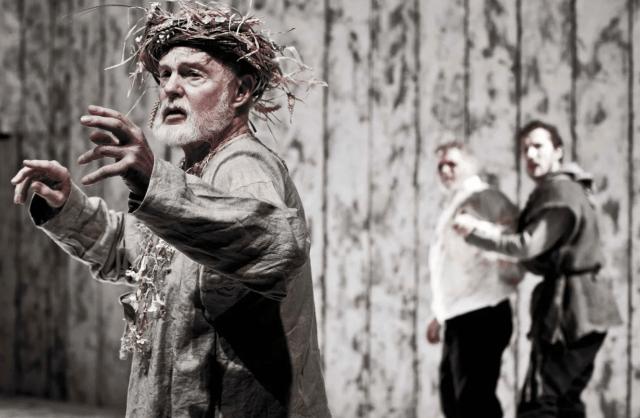 David Jacobi performing King Lear