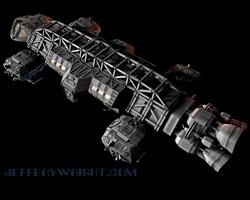Space 1999: Eagle Transporter - Concept Reboot 3D Model