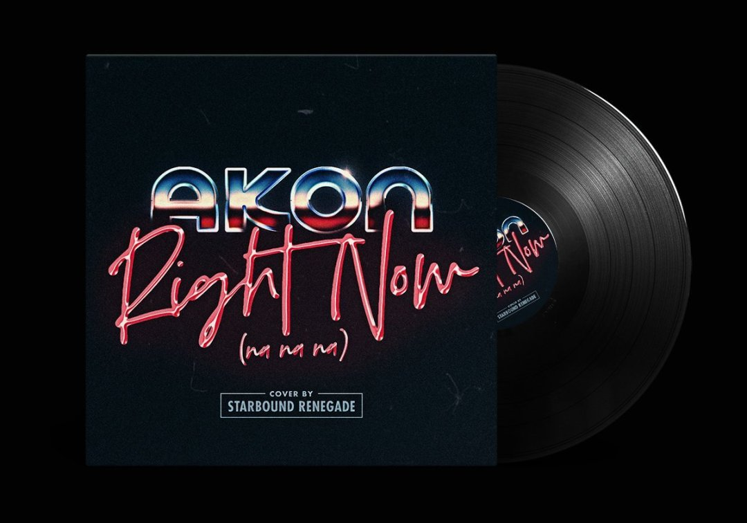 Akon – Right Now cover