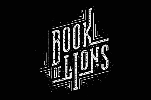 Book of Lions – Lettering