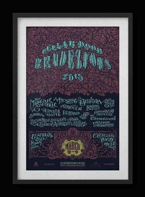 Cellar Door Rendezvous – Gigposter