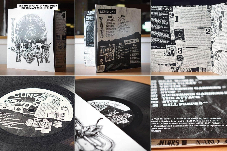 The Guns - Album Layout