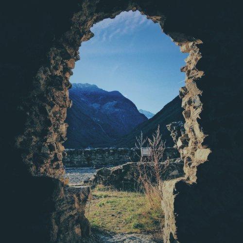 Castle Ruins, Italy