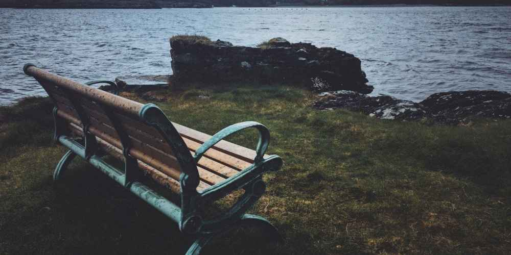Bench in Ireland
