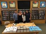Jeff Garvin, Kali Wallace, Amy Boylan (Customer Relations Manager), Marisa Reichardt