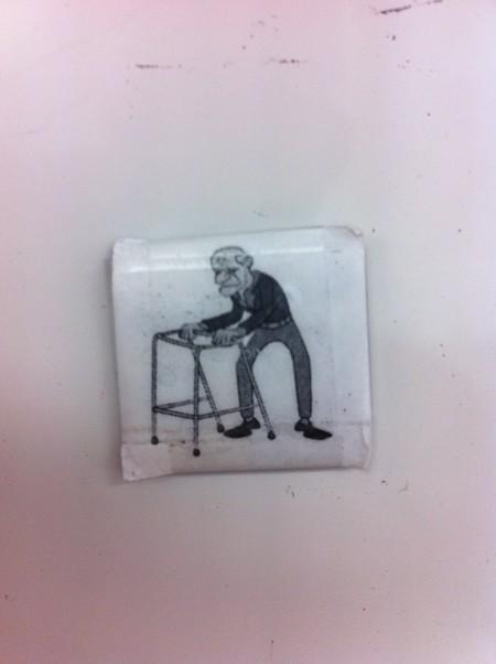 agile card aging - old man avatar