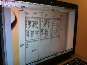 Remote design studio and collaborative sketching