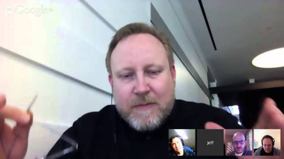 jeff gothelf and Jeff Patton on a webinar