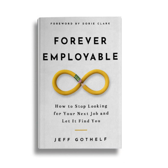 Forever Employable, my new book available now