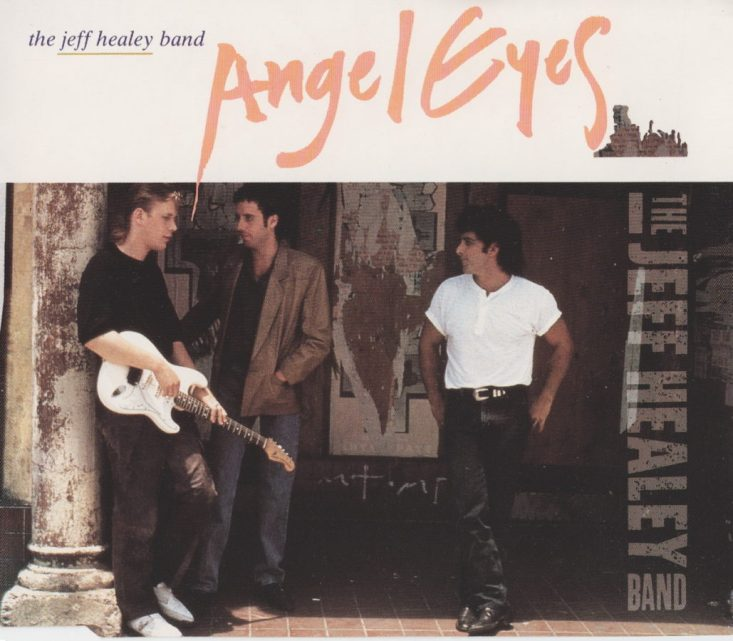 Angel Eyes - CD single - front