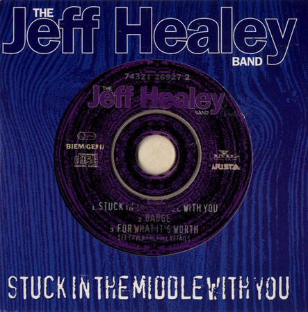 Stuck In The Middle With You - CD single - alt. cut-out cover
