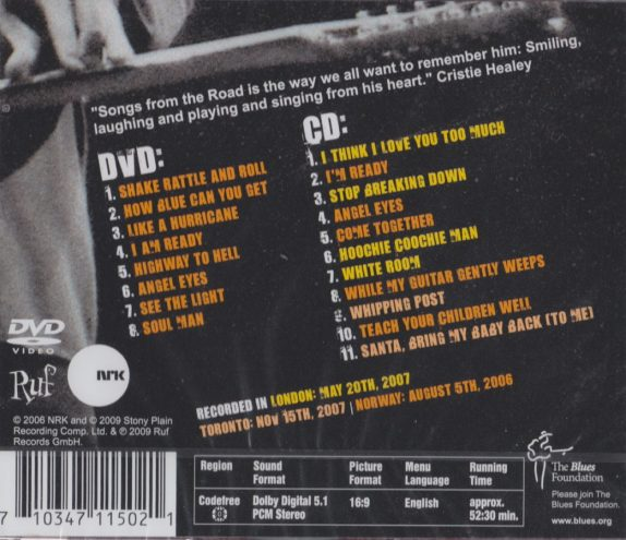 Back Cover (Europe)