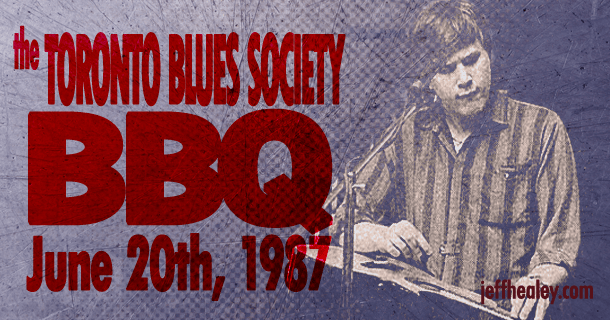 Toronto Blues Society BBQ – 1987!