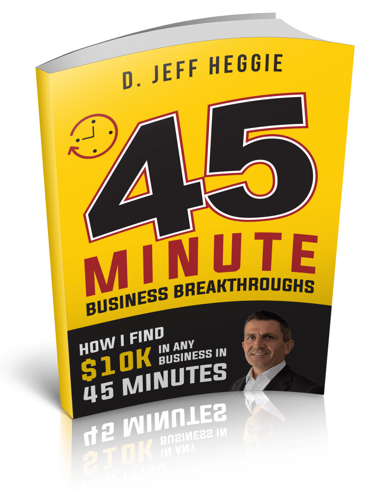 Jeff Heggie Business Coaching Marketing Book