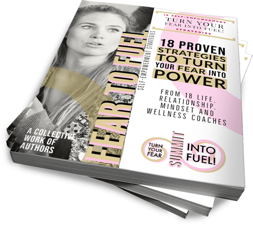 Fear to Fuel - 18 Proven Strategies to Turn Your Fear Into Fuel Book Cover - Jeff Heggie Coaching