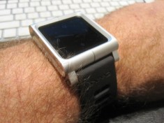 My iPod Nano is now a multi-touch watch
