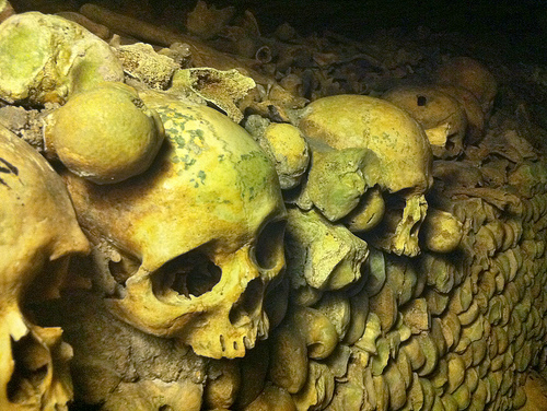Day 17 in Paris: Old Bones in the Catacombs