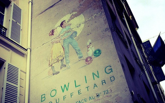 Day 1 in Paris: Bowling in the Latin Quarter