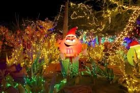 Take your Family and Friends to Ethel M's to see the Holiday Cactus Garden