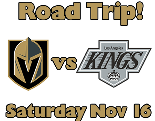 Do you love the Vegas Golden Knights too? Wanna road trip to see them play in L.A.?