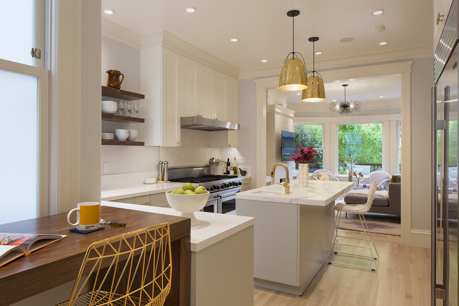 grand traditional kitchen remodel in san francisco - jeff king and