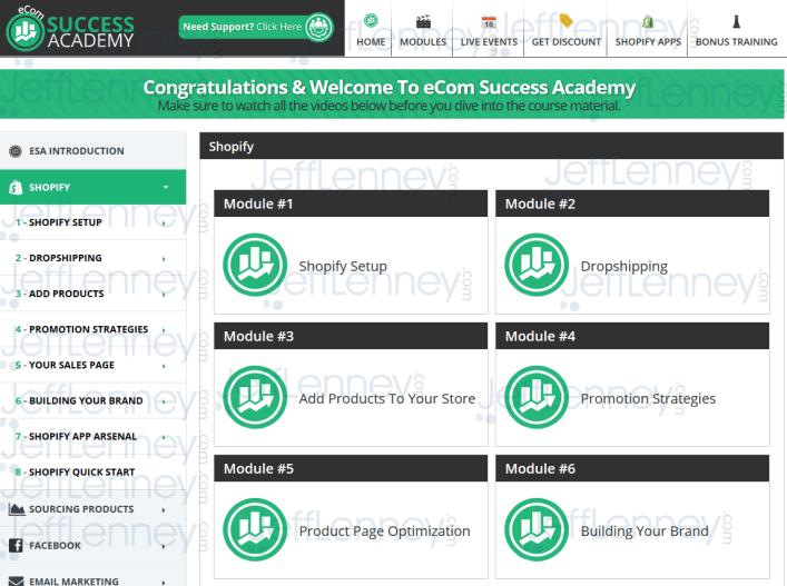 eCom Success Academy Training
