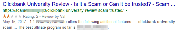 Fake Scam Warning Website Review