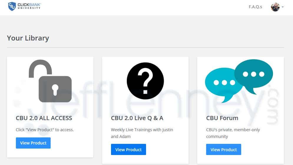 Clickbank University Extras