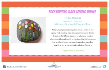 Rock Painting Class