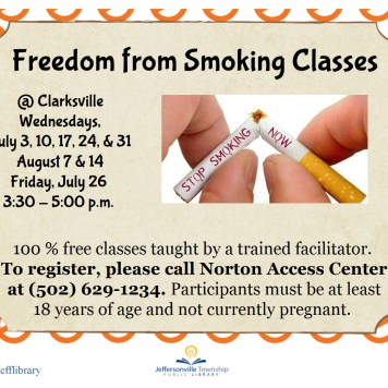 Freedom from Smoking Class