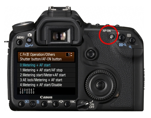 Canon's Back Button Focus Explained