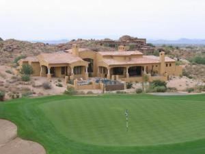 fifth green,carefree homes over 3500 sf,carefree golf course homes,carefree realtor homes golf course