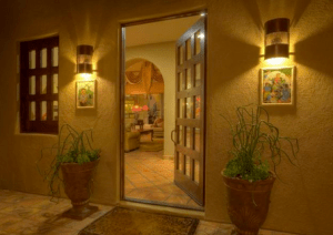 rio verde arizona luxury home courtyard