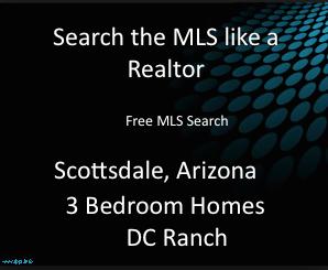 DC Ranch 3 Bedroom Realtor MLS Homes
