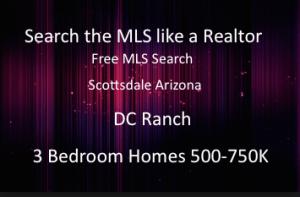 DC Ranch 3 Bedroom Homes 750K